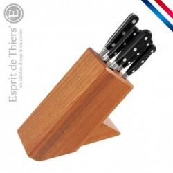 Bloc avec set de couteaux...