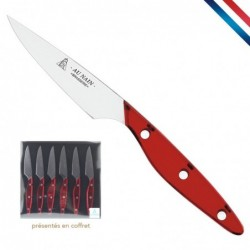 Coffret 6 couteaux steak...