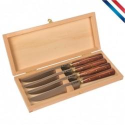 Coffret 4 couteaux table...