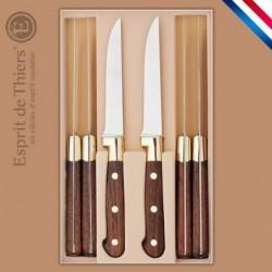 Coffret 6 couteaux steaks,...