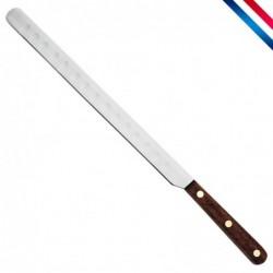 Couteau saumon alvéolé -...