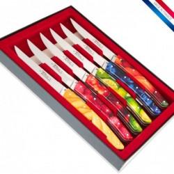 Coffret 6 couteaux de table...